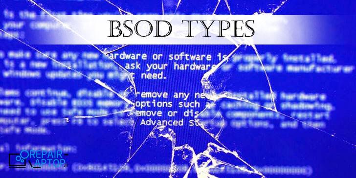 انواع بلوپیج یا BSOD